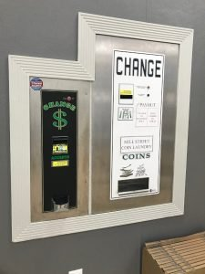 StarBrite Coin Laundry and Laundry Services, Lewisville TX - Change Machine