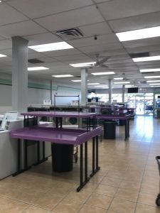 StarBrite Coin Laundry and Laundry Services, Lewisville TX - Laundry Folding Tables Available