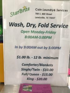 StarBrite Coin Laundry and Laundry Services - Wash, Dry and Fold Laundry Service
