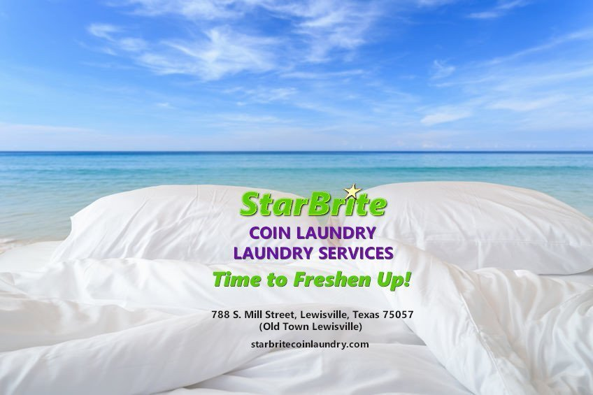 StarBrite Coin Laundry Lewisville TX - Time to Freshen Up!
