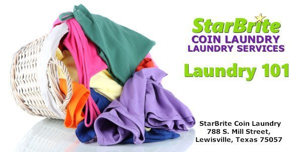 StarBrite Coin Laundry and Laundry Services, Lewisville TX - Laundry 101