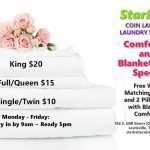StarBrite Coin Laundry Lewisville Texas - Comforter and Blanket Wash Special